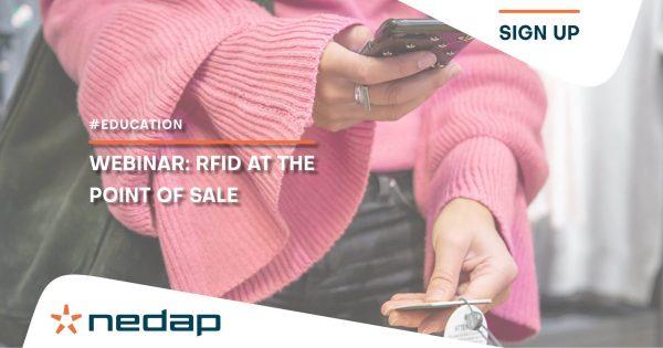 Novo webinar: RFID no ponto de venda 21 e 22 de abril